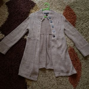 Warm 5 button cardigan